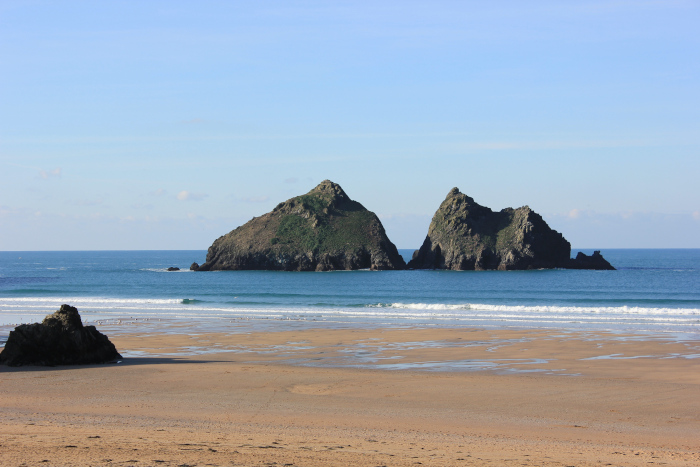 Holywell Bay, Cornwall, January, 2017